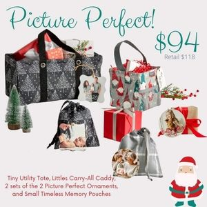 Holiday totes and customized ornaments